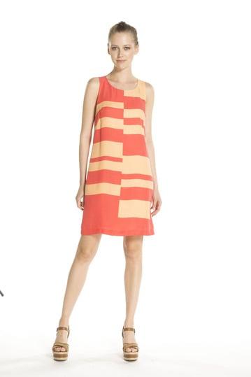 Robe soie motifs géométriques - Robe Bac | Derhy