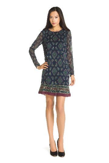 Robe droite imprimée - Robe Glamour |Derhy